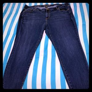 Plus size gently used Lane Bryant Jeans